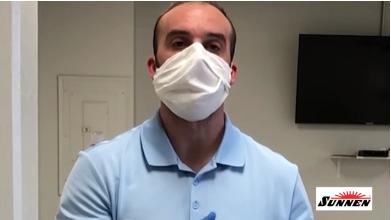COVID-19-Mund-Nasen-Schutz