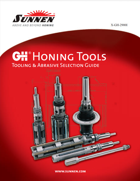 Sunnen Catalog - Tube Honing Tooling and Accessories